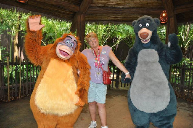 King Louie and Baloo Meet and Greet