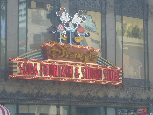 Disney Soda Fountain