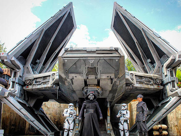The First Order in Galaxy's Edge