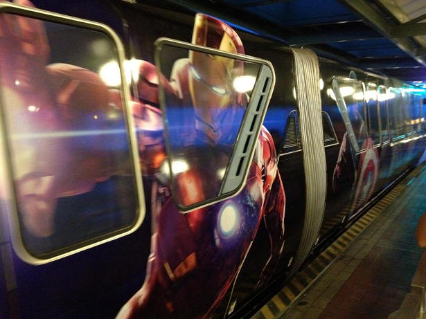 Avengers Monorail