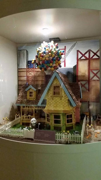 Chocolate Up House