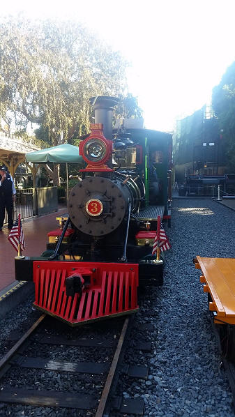 Disneyland Railroad