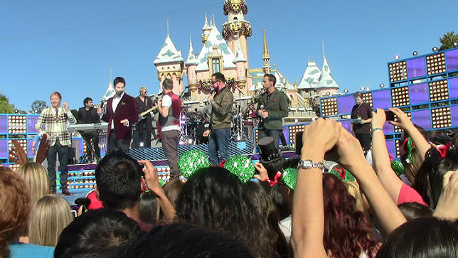 Picture of the Day Backstreet Boys Disneyland