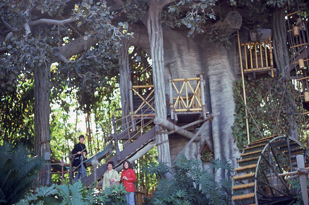 Swiss Family Treehouse Disneyland