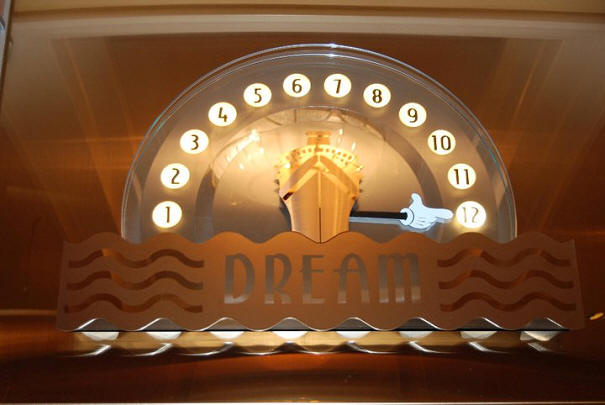 Disney Dream elevator