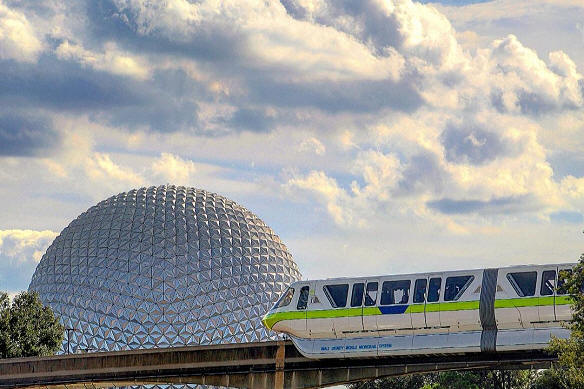 Monorail Spaceship Earth