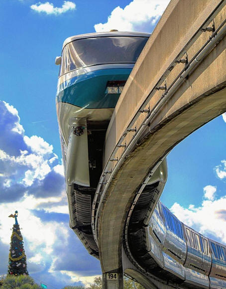 Monorail Christmas