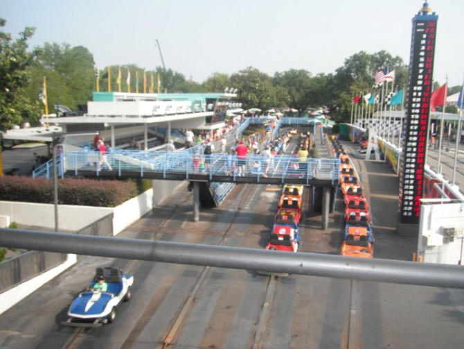 Picture of the Day Tomorrowland Speedway