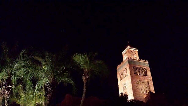 Morocco at night