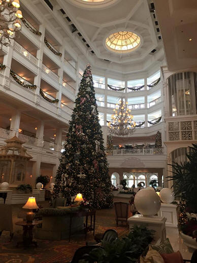 Grand Floriddian Tree