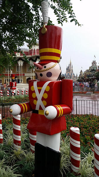Magic Kingdom Christmas toy soldier