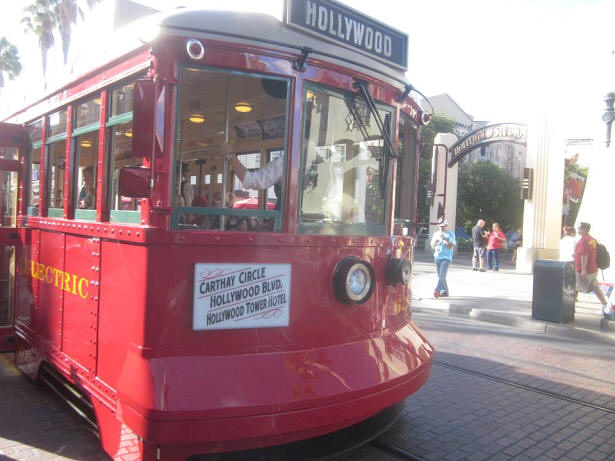 Red Trolley Car