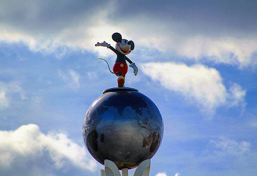 Mickey Mouse Crossroads of the World