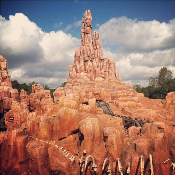 Picture of the Day Big Thunder Mountain Railroad