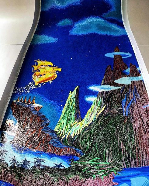 Peter Pan mosaic