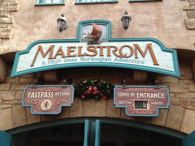 Maelstrom in Epcot
