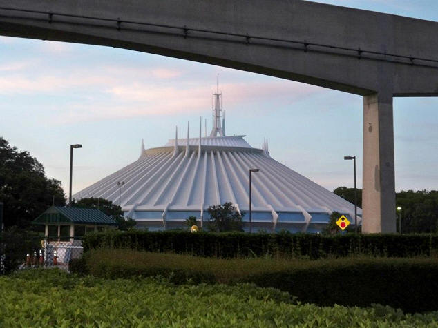 Picture of the Day Space Mountain