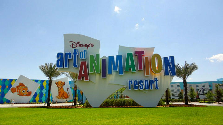 Picture of the Day Art of Animation Resort