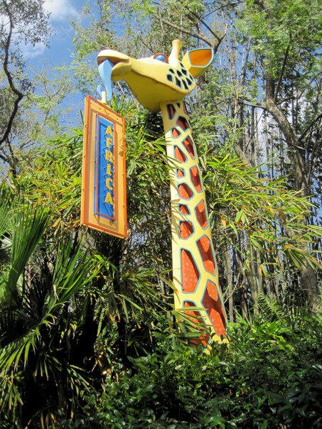 Picture of the Day Disney's animal Kingdom Africa