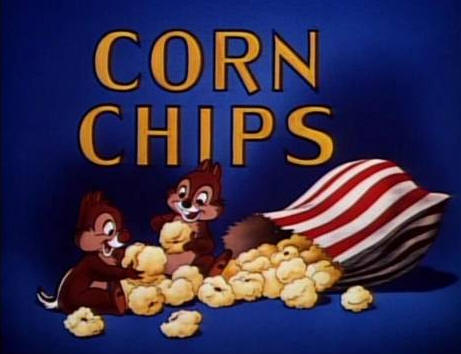 Chip 'n' Dale short cartoon, Corn Chips