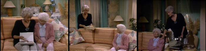 The Golden Girls go to Disney World