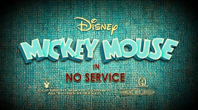 Mickey Mouse No Service