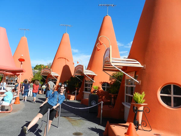 Cozy Cone in carsland