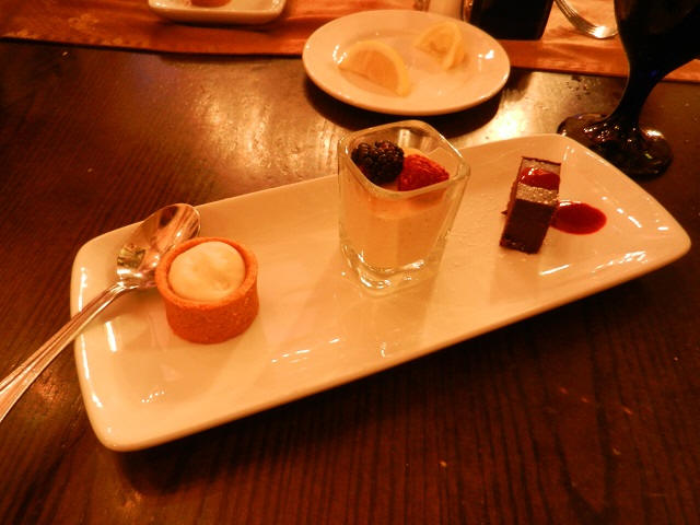 Cinderella's Royal Table Dessert Trio