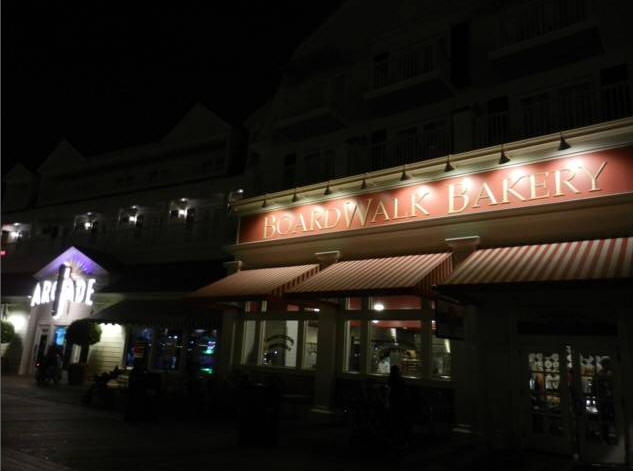 Boardwalk Bakery in Walt Disney World