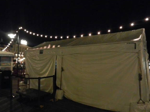 Boardwalk Tent