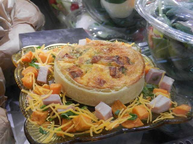 Quiche at Boardwalk Bakery