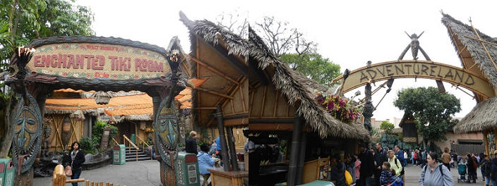 Tiki Room and Adventureland Entrance