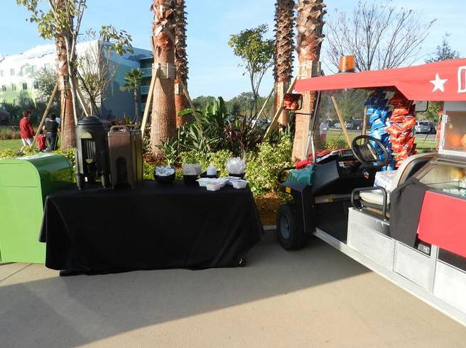 Food Cart at Art of Animation Resort