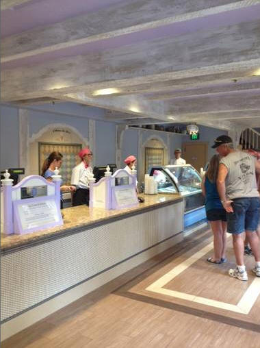 France Pavilion Ice Cream Shop Epcot