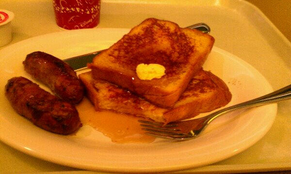 First French Toast ever served at Disney's Art of Animation Resort