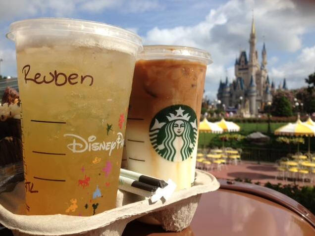 Starbucks in Magic Kingdom