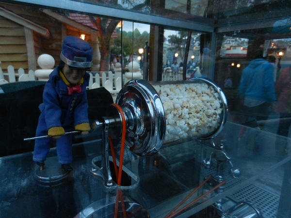 Jolly Trolly Conductor Popcorn Cart Disneyland