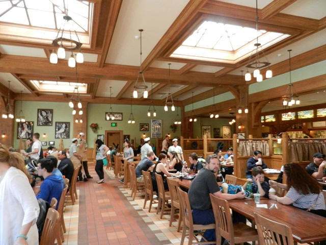 Starbucks in Disney