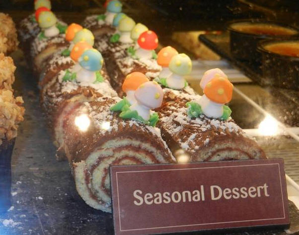 Yule Log at Sunshine Seasons
