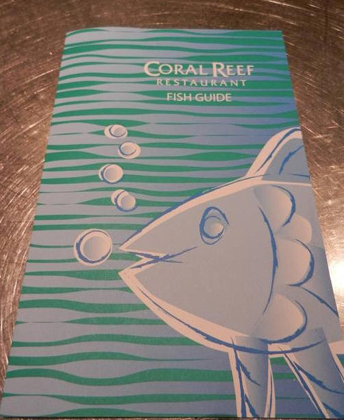 The Coral Reef at Epcot - Fish Spotting Guide