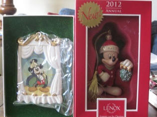 2012 Disney Ornament