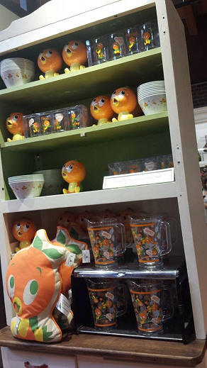 Orange Bird merchandise