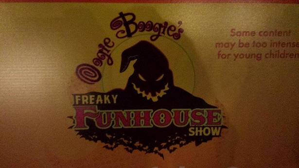 Oogie Boogie's Freaky Funhouse Show