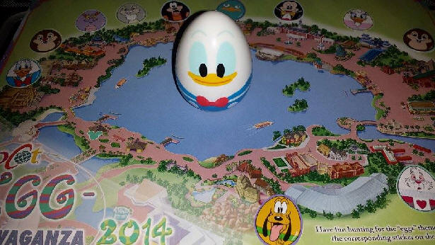 Donald Duck Egg