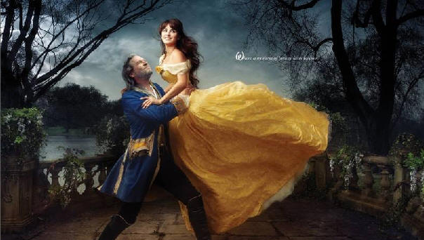 Beauty and the Beast photograph