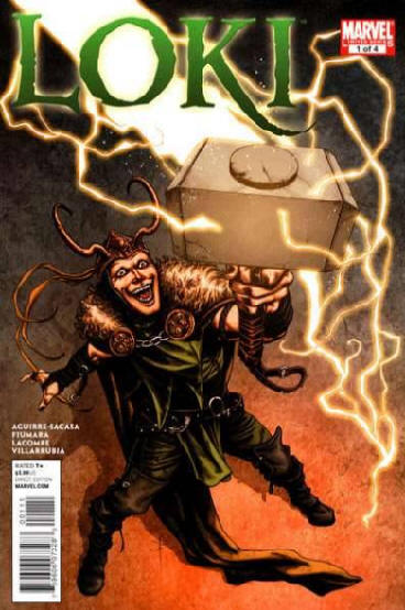 Loki comic book