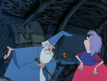 Madam Mim from Sword in the Stone