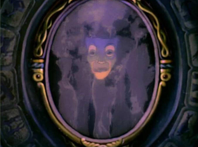 The Magic Mirror in Snow White