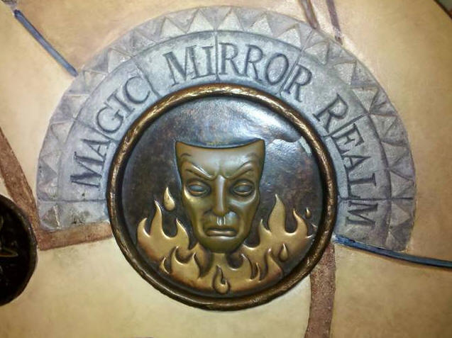 The Magic Mirror in Disney California Adventure