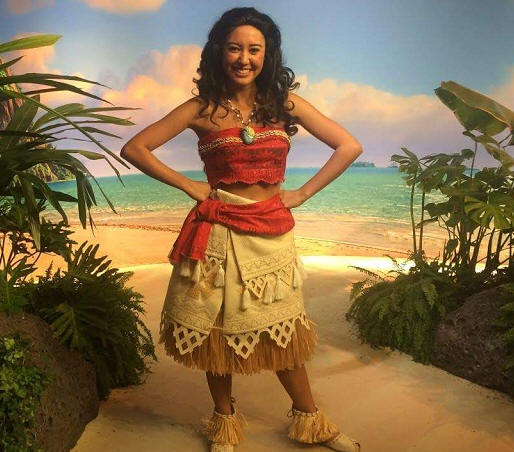 Whos who wednesday moana can be found as a meet and greet character in disney parks around the world she can also be seen in two upcoming shows first in 2017 she can be seen m4hsunfo